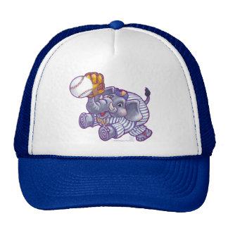Estrella de béisbol del elefante gorros