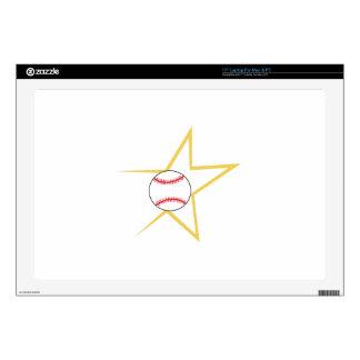 Estrella de béisbol portátil skins