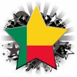 Estrella de Benin Escultura Fotográfica