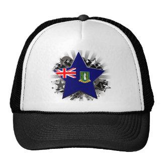 Estrella de British Virgin Islands Gorro