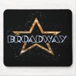 Estrella de Broadway Alfombrillas De Ratón