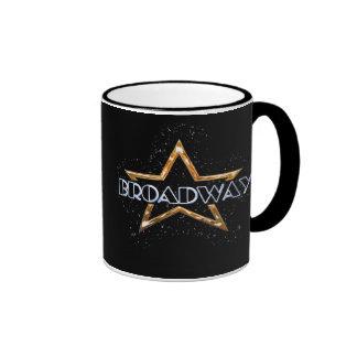 Estrella de Broadway Taza De Dos Colores