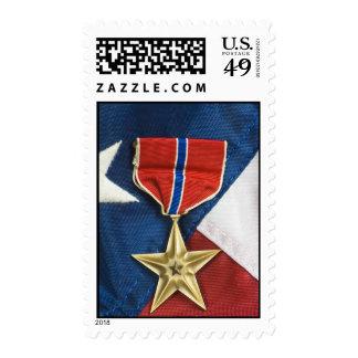Estrella de bronce sellos