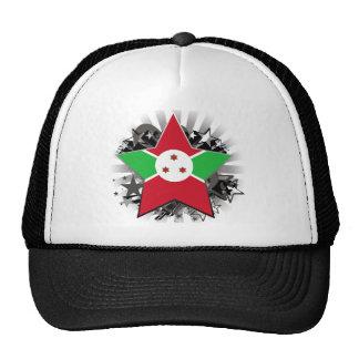 Estrella de Burundi Gorro De Camionero