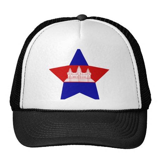 Estrella de Camboya Gorras De Camionero
