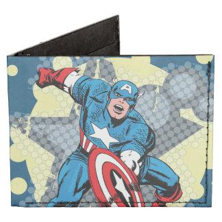 Estrella de capitán América Billeteras Tyvek®
