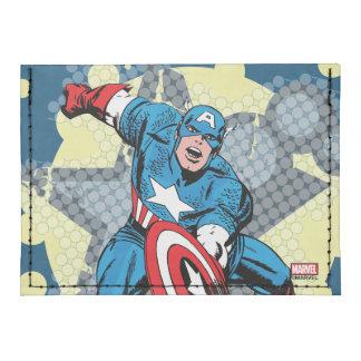 Estrella de capitán América Tarjeteros Tyvek®
