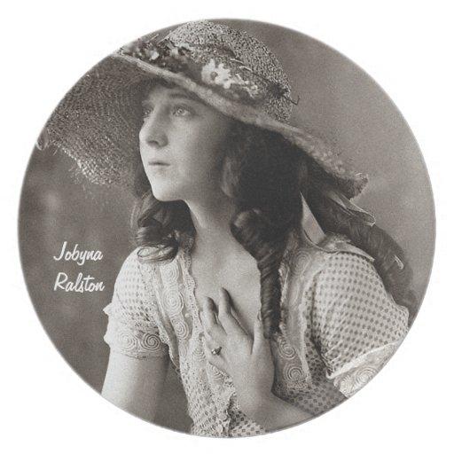 Estrella de cine de Jobyna Ralston-Early Platos