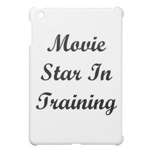 Estrella de cine en el entrenamiento