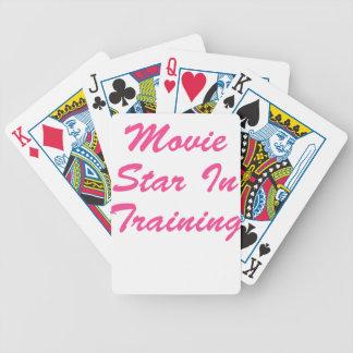 Estrella de cine en el entrenamiento barajas