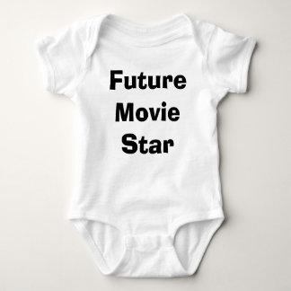 Estrella de cine futura body para bebé