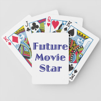 Estrella de cine futura baraja