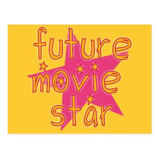 Estrella de cine futura tarjetas postales
