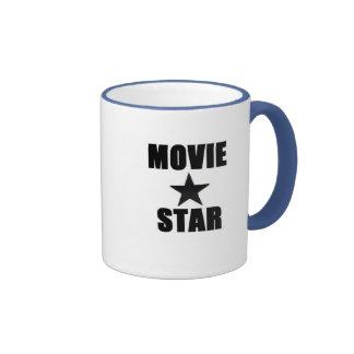 Estrella de cine taza a dos colores