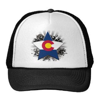 Estrella de Colorado Gorras