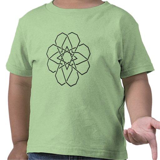 Estrella de corazones camisetas