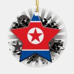 Estrella de Corea del Norte Ornamento Para Reyes Magos