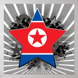 Estrella de Corea del Norte Impresiones