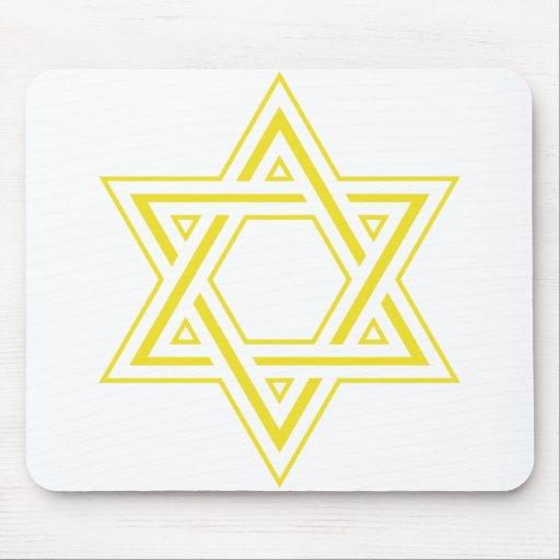 Estrella de David Alfombrillas De Raton
