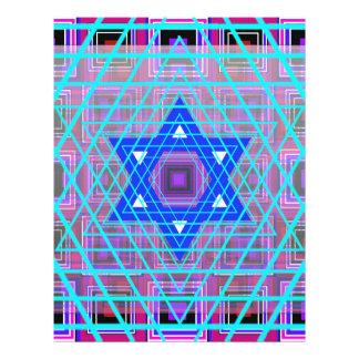 Estrella de David atada con alambre