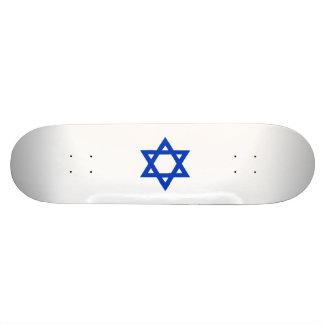Estrella de David azul Patín