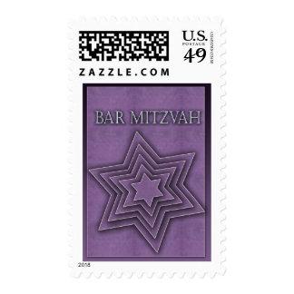 Estrella de David/de la barra Mitzvah Sellos