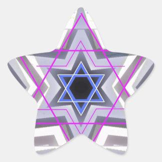 Estrella de David decorativa Pegatina En Forma De Estrella