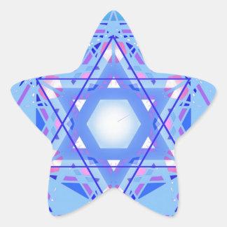 Estrella de David… el Magen Pegatina En Forma De Estrella