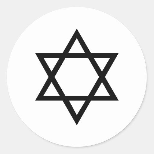 Estrella de David Etiquetas