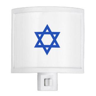 Estrella de David israelí Lámparas De Noche