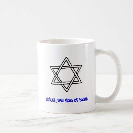 Estrella de David - Jesús, el hijo de David Taza Clásica