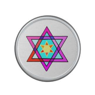 Estrella de David judía Altavoz
