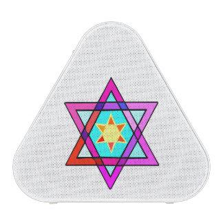 Estrella de David judía Altavoz Bluetooth