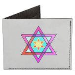 Estrella de David judía Billeteras Tyvek®