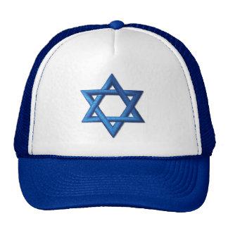 Estrella de David judía Gorro