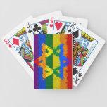 Estrella de David - judío - orgullo gay Baraja Cartas De Poker
