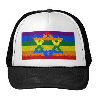 Estrella de David - judío - orgullo gay Gorras De Camionero
