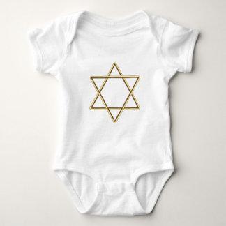Estrella de David para la barra Mitzvah o el palo Body Para Bebé