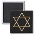 Estrella de David para la barra Mitzvah o el palo  Imán Para Frigorifico