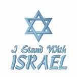 Estrella de David que me coloco con Israel Polo Bordado