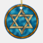 Estrella de David Shalom - SRF Adornos De Navidad