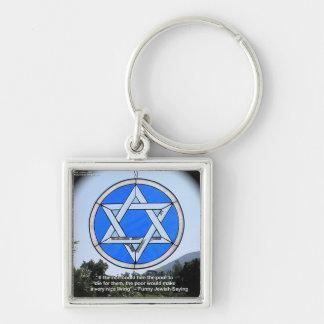 Estrella de David y regalos y tarjetas judíos dive Llaveros