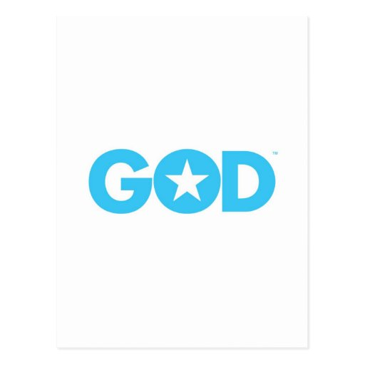 Estrella de dios postales