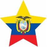 Estrella de Ecuador Escultura Fotográfica