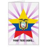 Estrella de Ecuador Felicitación