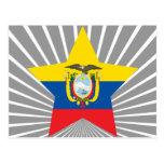 Estrella de Ecuador Tarjeta Postal