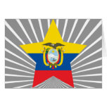 Estrella de Ecuador Tarjeton