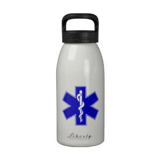Estrella de EMT de la vida Botella De Agua Reutilizable