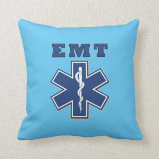 Estrella de EMT de la vida Cojín Decorativo