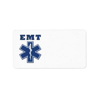 Estrella de EMT de la vida Etiquetas De Dirección